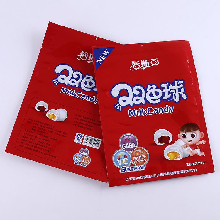 奶糖自立袋