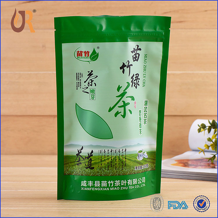 自立绿茶包装袋