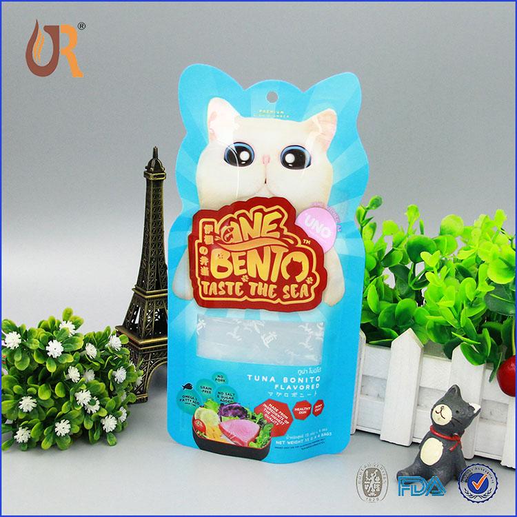 异型猫粮袋