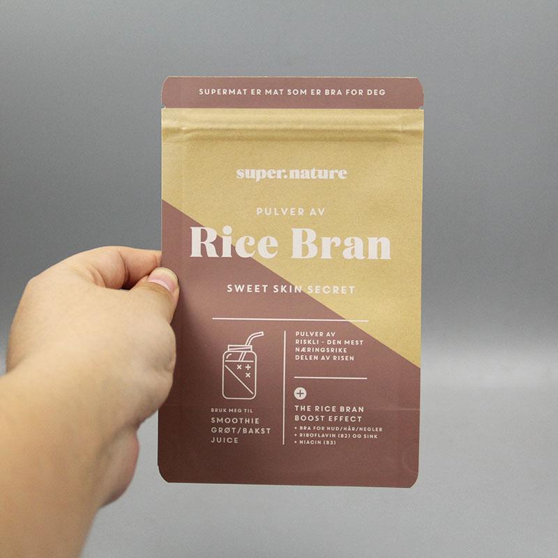 自立牛皮纸食品包装袋