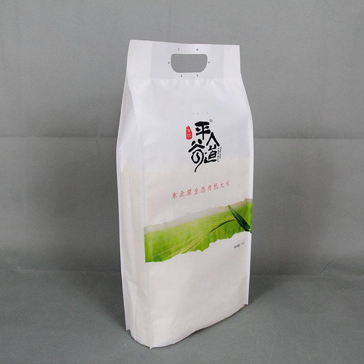 5kg哑光表层大米袋