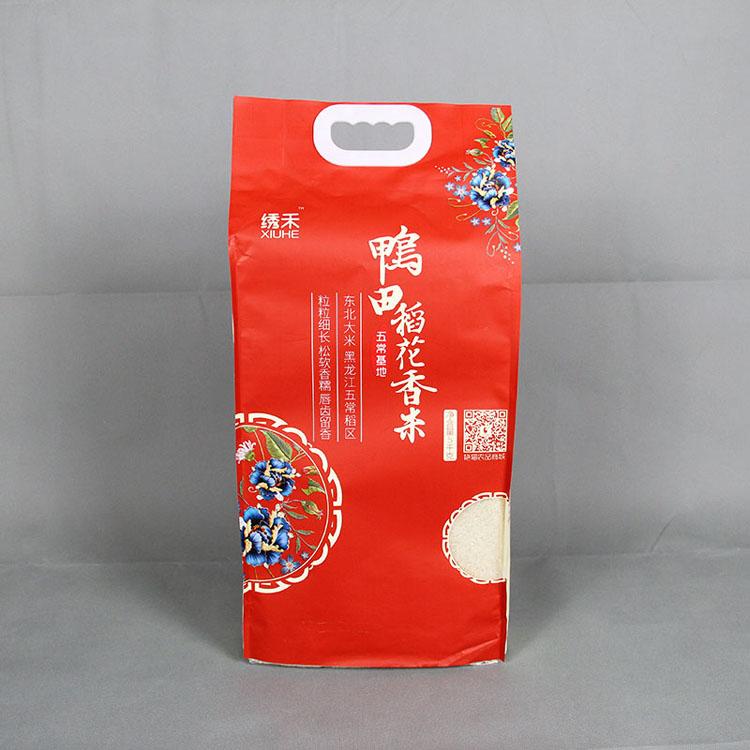 5kg鸭田稻花香米包装袋