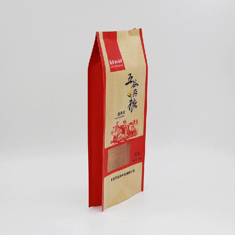 牛皮纸杂粮包装袋