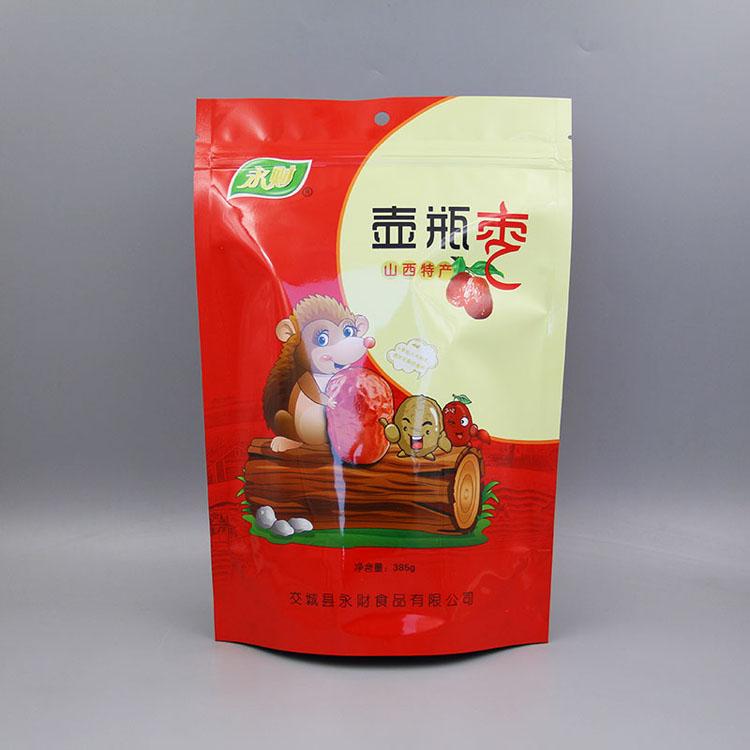 自立自封红枣包装袋