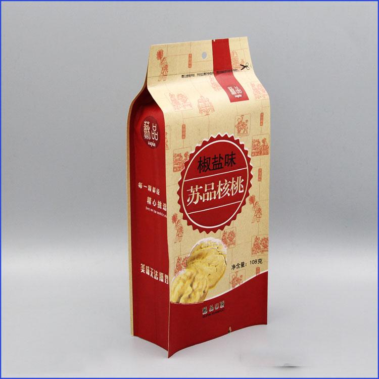 核桃牛皮纸包装袋