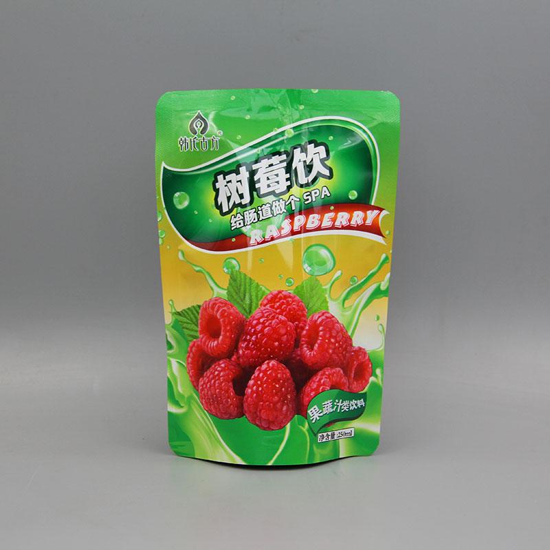 果汁自立吸嘴袋
