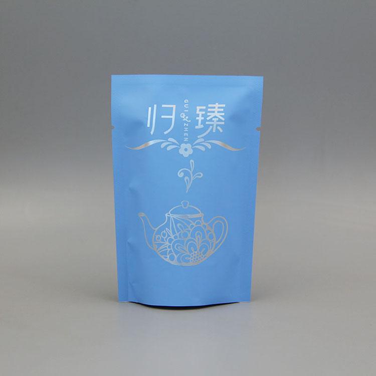 哑光铝塑小花茶包装袋