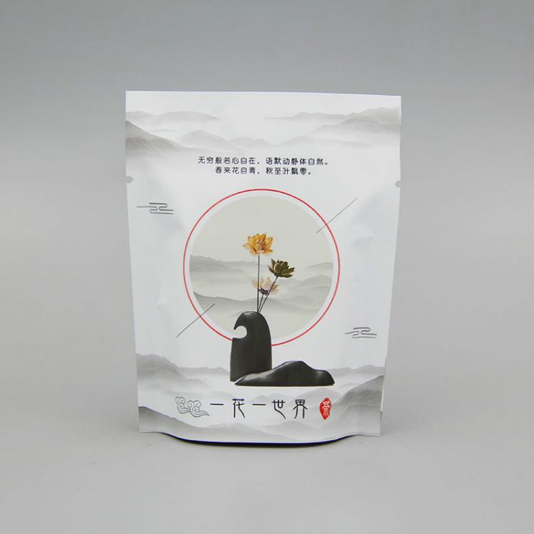 简约铝塑复合花茶袋