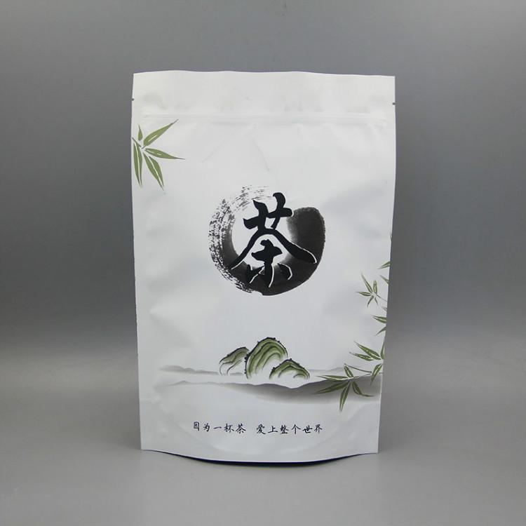 哑光面站立茶叶袋