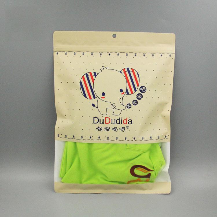 牛皮纸服装包装袋